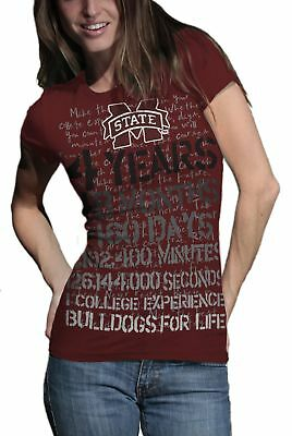 NCAA Mississippi State Bulldogs T.Fisher 4 Years 48 Months Vintage Junior Sho...
