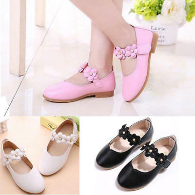 Princess Leather Infant Summer Shoes Sandals Kids Girls Party Wedding Toddler