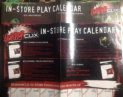 THE LAB IN-STORE PLAY CALENDAR 2007 Horrorclix Heroclix