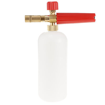 Pressure Washer Jet Wash Snow Foam Lance Quick Release Adjustable Red