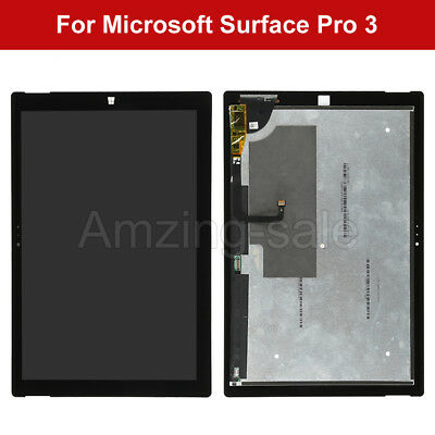 """12"""" For Microsoft Surface Pro 3 1631 V1.1 LCD Touch Screen Digitizer Replacement"""