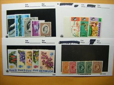 7185 Br. Commonwealth Lot of 4 Mint Stamp Packs