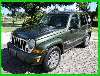2006 Jeep Liberty Limited Edition 1-Owner 63,800 Low Miles 2006 Jeep Liberty Limited 1-Owner 63,800 Low Miles Clean Autocheck No Reserve