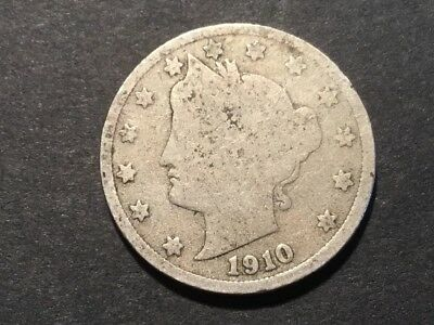 1910 US Liberty Head nickel. 107 years old.