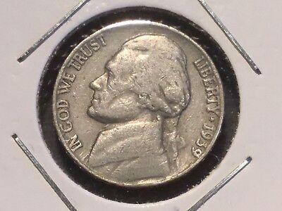 "1939  US "" Jefferson "" Nickel"