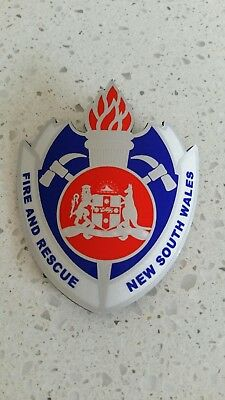 Fire And Rescue New South Wales ..  Fridge Magnet .. Frnsw