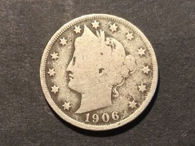 "1906 US ""Liberty Head"" Nickel. 111 years old."