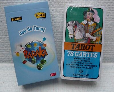 Jeu de tarot - 78 cartes-pub 3M Scotch-Post-it-jeu neuf scellé