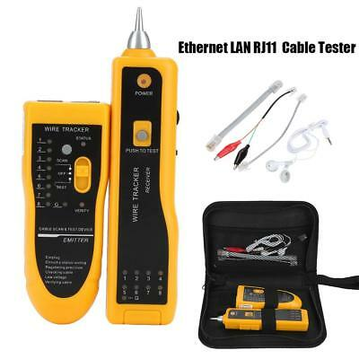 Network Ethernet LAN RJ11 RJ45 Cable Tester Wire Tracker Wire Tracer Scan Tool
