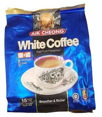 Aik Cheong Malaysia 2 in 1 Instant Premix White Coffee (30g x15 sticks)