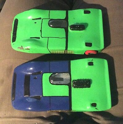 Two Vintage Slot Cars 16.5cms