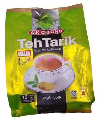 Aik Cheong Malaysia 4 in 1 Instant Teh Tarik Ginger (Milk Tea) (40g x15 sticks)
