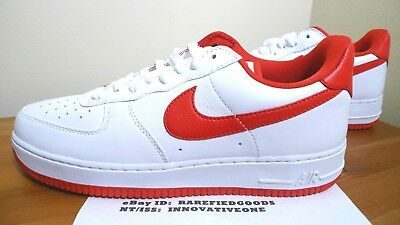 Nike Air Force 1 Low Ct16 Moses Malone White University Red Sz 12 [Aq5107 100]