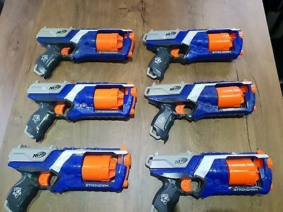 Nerf Gun nstrike elite strongarm Bundle 6 guns