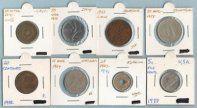 Coins Mixed Lot of Eight