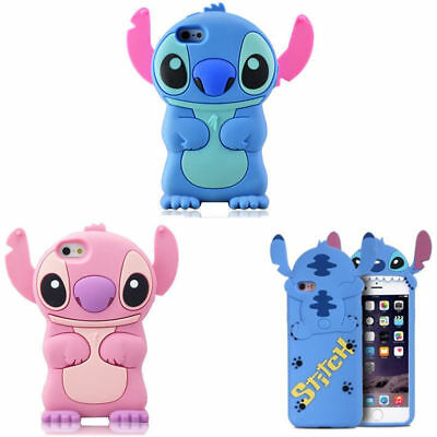 New Stitch Case Cover Cute Cartoon Animal Kawaii Soft Silicone For Various Phone
