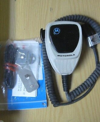 Motorola Hmn1090A  Hmn1090C Hand Held Microphone With Hang Up Clip New