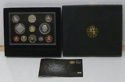 2008 Royal Mint UK Proof 11 Coin Year Set Inc Olympic Centenary £2, x2 £5 Crowns