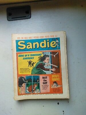 Sandie Comics  11 Issues 1972/3  Includes Christmas Issue From 1972
