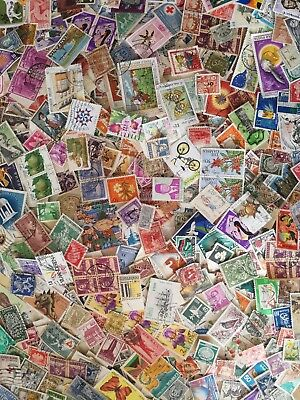100 All Different World Stamps From Premium Collection!!!