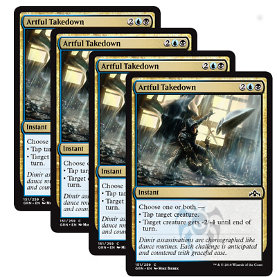 MTG - Guilds of Ravnica (GRN) - Choose Your Common Playset (x4 Cards)