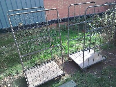 cages with trolley wheels