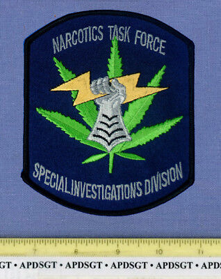 ST CHARLES PARISH NARCOTICS TASK FORCE LOUISIANA Police Patch DRUG INVESTIGATION