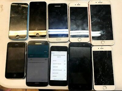 Wholesale Lot Of Cell Phones (Salvaje Condition)