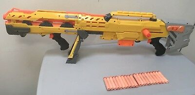Nerf CS 6 Long Shot Sniper Rifle Dart Gun N Strike Elite + Darts Bundle
