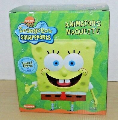 Ty Pluffies LICENSED Sponge Bob Squarepants NEW MWMT and HTF!!! Nickelodeon