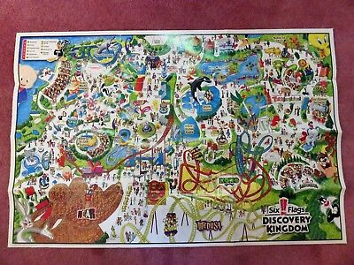 SIX FLAGS DISCOVERY Kingdom Tickets - $70.00   PicClick