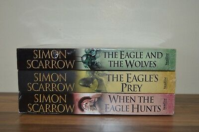 Simon Scarrow Centurion Collection 3 Books Set / Collection New & Sealed (EM)