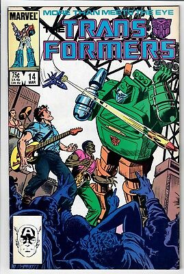 Transformers #14 (Marvel) -- *** Additional items SHIP FREE!~!~!