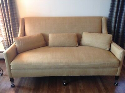 Duralee Fine Furniture Sofa With Goose Down Mid Century Design Made In Usa