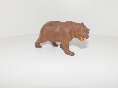 Antique Swiss Black Forest Bear Wood Carving