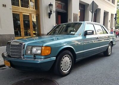 1991 Mercedes-Benz 400-Series 420 SEL 1991 Mercedes-Benz 420SEL  Immaculate Low-Mileage Long Wheelbase Sedan