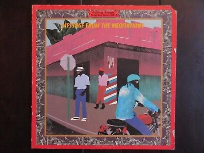 THE MEDITATIONS - Message From The Meditations - LP, 1978, Roots Reggae