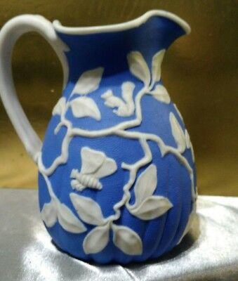 Rare limited production signed numbered 169 yr old antique pitcher