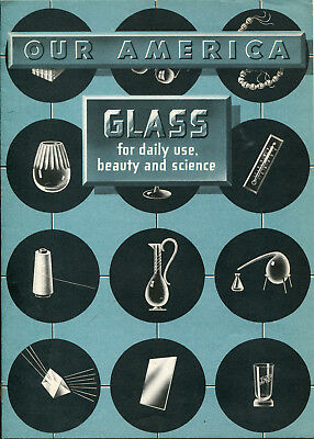 1954 Coca Cola OUR AMERICA Glass for Daily Use, Beauty and Science Educational