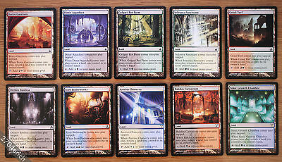 Dual Bounce Lands 10x Lot Full Set Ravnica Block Nm English Mtg Pauper 6 95 Picclick Orzhov offers the most potent removal package around and is content to build board position while gatecrash: dual bounce lands 10x lot full set