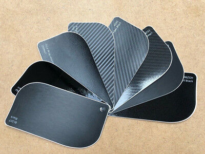 Black Vinyl Wrap Carbon Fibre 4D 3D Glossy Matte Chrome Sanded Brushed Pearl