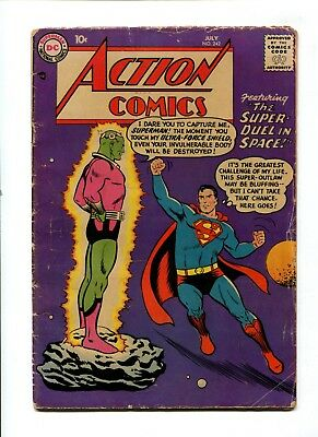 Action Comics #242 VINTAGE DC Comic KEY 1st Braniac Golden Age 10c