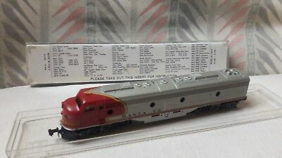 Rivarossi Locomotiva Santa fe Atlas 2101 N scale Made in Italy