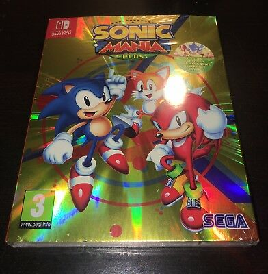 Sonic Mania Plus: Collector's Edition (NO GAME) | Nintendo Switch
