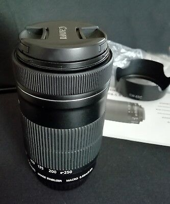 Canon Ef-S 55-250Mm F/4-5.6 Is Stm Obiettivo Zoom