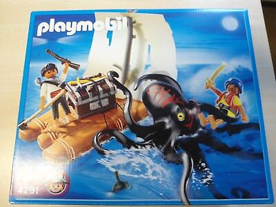 "Playmobil Set 4291 ""2 Piraten mit Floß""   NEU"