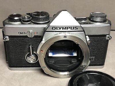 Vintage OLYMPUS OM2 35mm CAMERA Film Photography Photo USED Vg Body Only Japan
