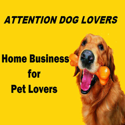 Home Based Pet Dog Business Work From Home WAHM Home Biz Home Business Office