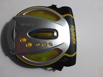 Sony Sports CD Walkman D-SJ01 Portable Disc Player G-Protection Tested Working