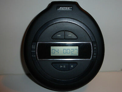 BOSE Compact Disc Player PM-1 Portable CD PlayerTested Working Anti Skip Shuffle